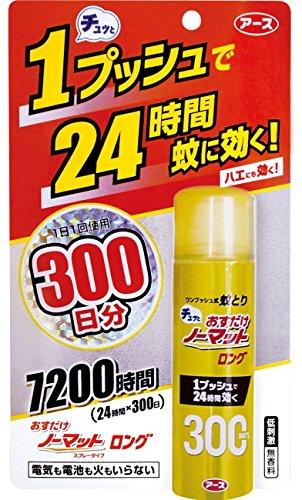 アース製薬 おすだけノーマット ロング 300日分 25mL