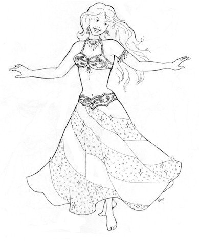 Finding Belly Dance Costume Patterns - LoveToKnow