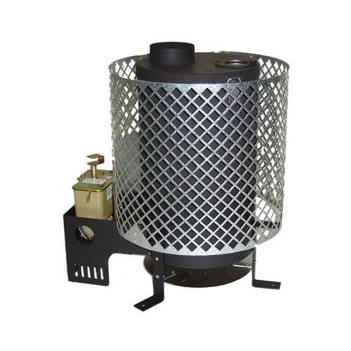 Trekker portable space heater diesel 4 000 12 000 btu h 64 440 sq ft - Small room space heater decor ...