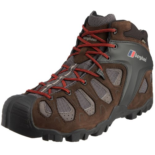 Berghaus Men's Pro Rush Mid GTX Hiking Boot Raven/Black 80044 R1T 7 UK