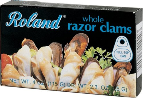 how to cook razor clams from frozen