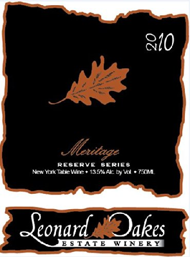 2010 Leonard Oakes Estate Winery Reserve Meritage 750 Ml