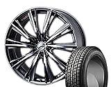 [235/55R20]GOODYEAR / ICE NAVI SUV スタッドレス [2/-][Weds / LEONIS WX (BMC) 20インチ] スタッドレス&ホイール4本セット ムラーノ(Z51系)