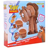 Disney Modellino Make Your Own Figures Toy Story Modelling Set Action Bullseye