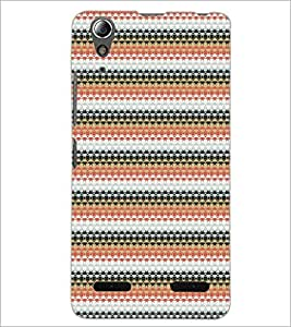PrintDhaba Pattern D-5190 Back Case Cover for LENOVO A6000 PLUS (Multi-Coloured)