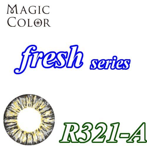 MAGICCOLOR (マジックカラー) fresh R321ーA 度なし 14.5mm 1ヵ月使用 2枚入り