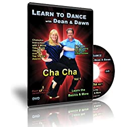 Cha Cha Vol 1 - Learn the Basics & More (Cha Cha Dance Lessons DVD)