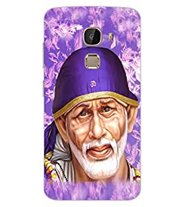 ColourCraft Lord Sai Baba Design Back Case Cover for LeEco Le 2 Pro