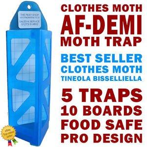 5-x-new-professional-clothes-moth-trap-af-demi-10-x-pheromone-glue-board