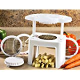 AndAlso One Press Vegetable Potato Tomato Onion Fruit Slicer Dicer For Home Kitchen