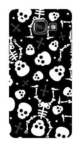 Koveru Back Cover Case for Samsung Galaxy A5-2016 - Mexican Skulls