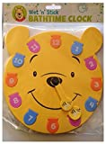 Disney Winnie the Pooh Wet n Stick Large Bath Time Clock Bath Toy