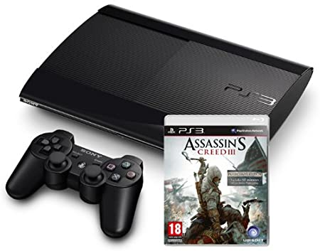 PlayStation 3 - Console 500 GB [M Chassis] con Assassin's Creed III [Bundle]