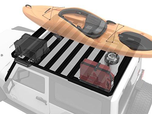 Jeep Wrangler JK 3 Door Roof Rack / Full Size Aluminum Off-Road Slimline II Cargo Carrier - by Front Runner (Front Runner Slimline Roof Rack compare prices)