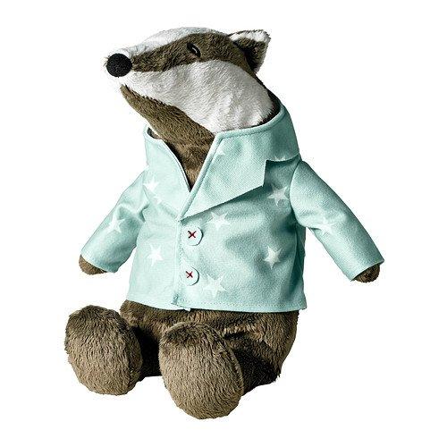 Ikea Grävling Soft Toy, Badger - 1 Ea