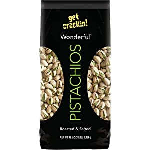 Wonderful Pistachios, Roasted & Salted, in Shell 48 oz