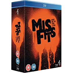 Misfits: Series 1 - 4 [Blu-ray]