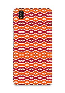 Amez designer printed 3d premium high quality back case cover for OnePlus X (Texture2)