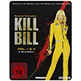 "Kill Bill: Volume 1+2 - Steelbook [Blu-ray]von ""David Carradine"""