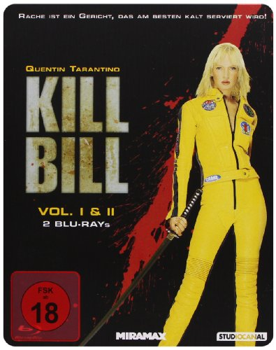 Kill Bill: Volume 1+2 - Steelbook [Blu-ray]
