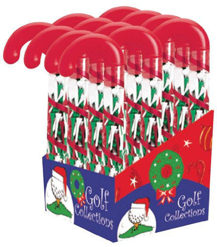 Golf Gifts & Gallery 95102 Candy Cane Tee Holder