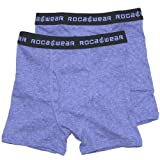 Rocawear Boys 4-18 Grey 2 Pack Boxer Briefs