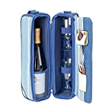 Picnic at Ascot Aegean Sunset Wine Carrier