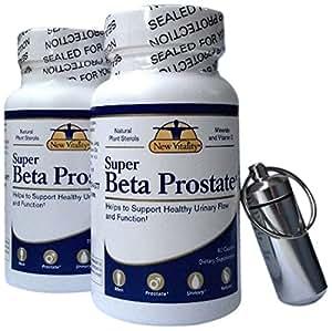 New Vitality Super Beta Prostate Enlarged Superbeta Health Caplets, 120 Count