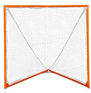 Champion Sports Pro Lacrosse Goal (Orange) by Champion Sports