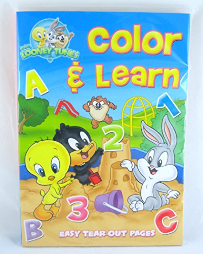 2 Pk, Baby Looney Tunes Color & Learn Workbook