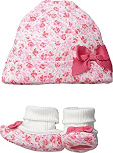 Kate Spade York Kids Women's Cap & Bootie Gift Set