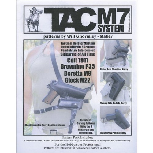 Tactical Holster System Patterns by Will Ghormley 6015-21