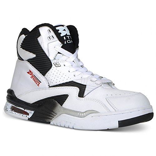 British Knights: Control Hi White Black Sneaker (11)