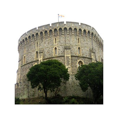 Windsor Castle Art Print Poster - 11x17