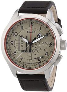 Timex Herren-Armbanduhr IQ Linear Chronograph Quarz T2P275