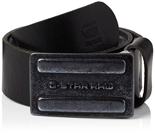 G-STAR RAW Daber Belt, Cintura Uomo, Nero (Black 990), 100 cm (Taglia Produttore: 100 Cm)