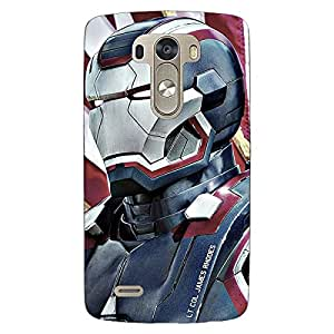 Jugaaduu Superheroes Ironman Back Cover Case For Lg G3 D855