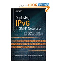 Deploying IPv6 in 3GPP Networks: Evolving Mobile Broadband from 2G to LTE and Beyond  NSN/Nokia Series  available at Amazon for Rs.5385
