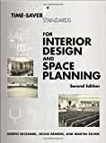 img - for Time-Saver Standards for Interior Design and Space Planning, 2nd Edition by Panero, Julius, Zelnik, Martin 2nd (second) (2001) Hardcover book / textbook / text book