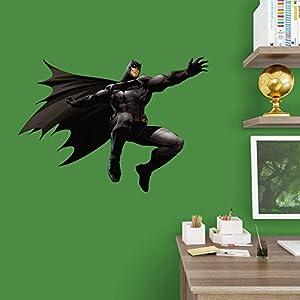Fathead Batman vs. Superman - Batman Junior Wall Decal at Gotham City Store