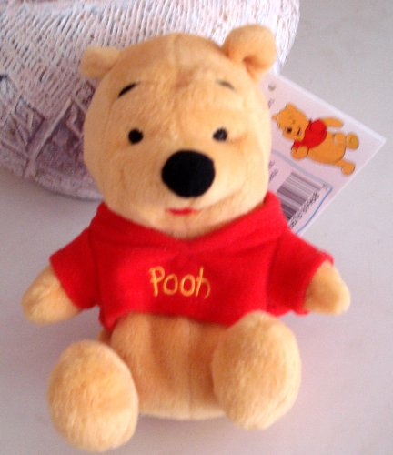 Winnie the Pooh Bean Bag Plush - 6 Inches - From Pooh Beanbag Friend Collection