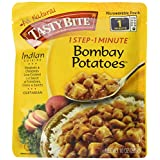 Tasty Bite Bombay Potatoes Heat and Eat Entree, 10 Ounce