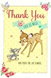 Carlton Disney's 'Thank You Ever So Much' - Bambi and Thumper Thank You Card - 419050