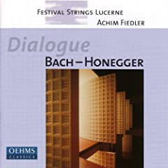 Bach: Art of Fugue (The) (Arr. for String Orchestra) / Honegger: Prelude, Arioso Et Fughette Sur Le Nom De Bach (Arr. for String Orchestra)