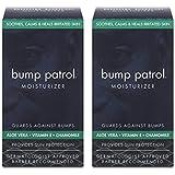 Bump Patrol Moisturizer - Guards Against Bumps - 2 Pack