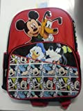 Backpack - Disney - Mickey Mouse w/ Friends 16 (Large School Bag)
