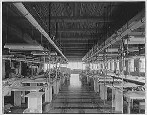 Photo: Argo Knitting Mills,Schuylkill Haven,Pennsylvania. Interior VI