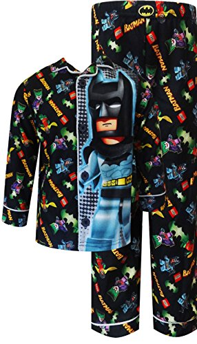 Lego Batman And Robin Button Front Flannel Pj For Boys (2T) back-742663