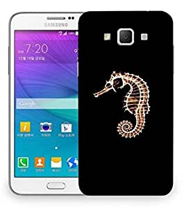 Snoogg Sea Horse Fish Designer Protective Back Case Cover For Samsung Galaxy Grand Max G7200