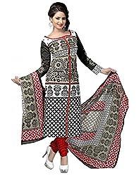 Divyaemporio Women'S Faux Cotton Multicolor Salwar Suits Dress Material